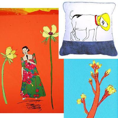 Rachael Howard Artist's Talk Textiles / Stitch/ Print
