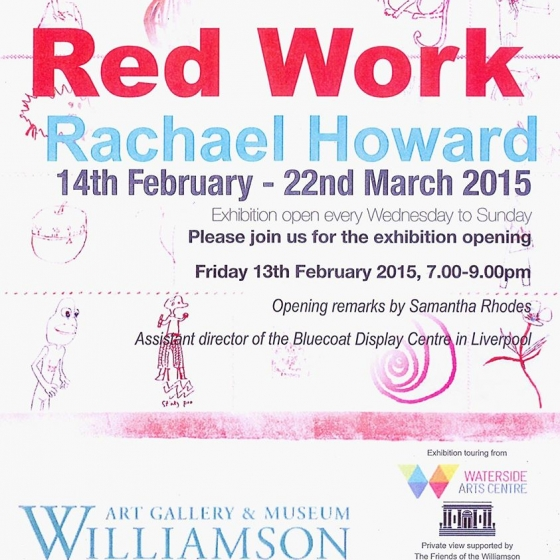 Red Work @ Williamson Art Gallery